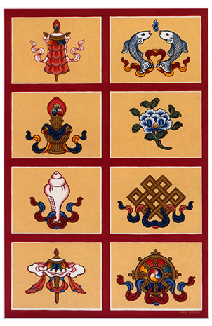 The Eight Auspicious Symbols